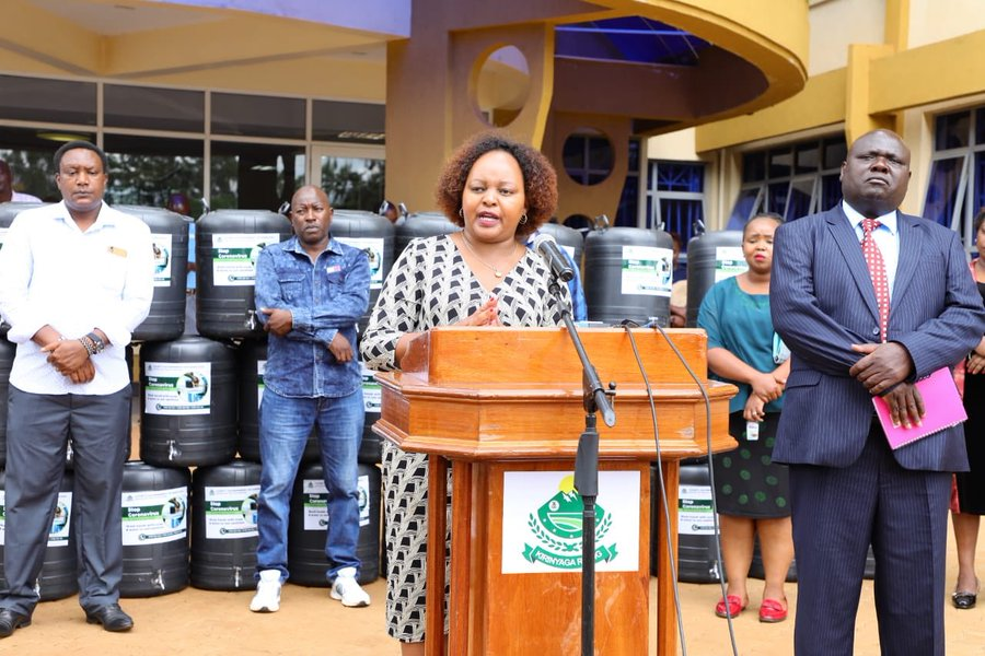 "Kirinyaga Governor Ann Waiguru says, ""Even though no corona virus case has been reported in Kirinyaga County, we cannot confidently say that we do not have any case."