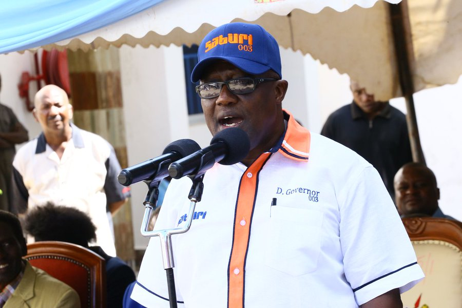 Kilifi Deputy Governor Gideon Saburi who had travelled back from Germany, allegedly refused to quarantine himself for the mandatory 14 days.