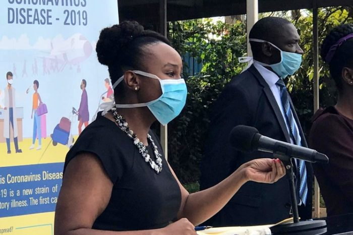 Nearly half of Kenya's counties have COVID-19 cases