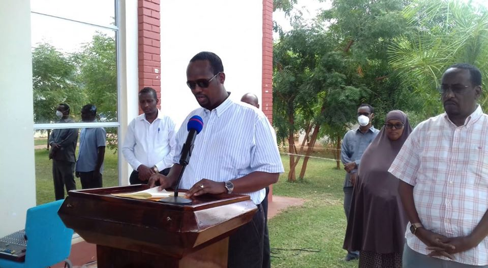 A team of health officials has been dispatched to trace people who may have come into contact with the two individuals who tested positive for coronavirus in Mandera County.