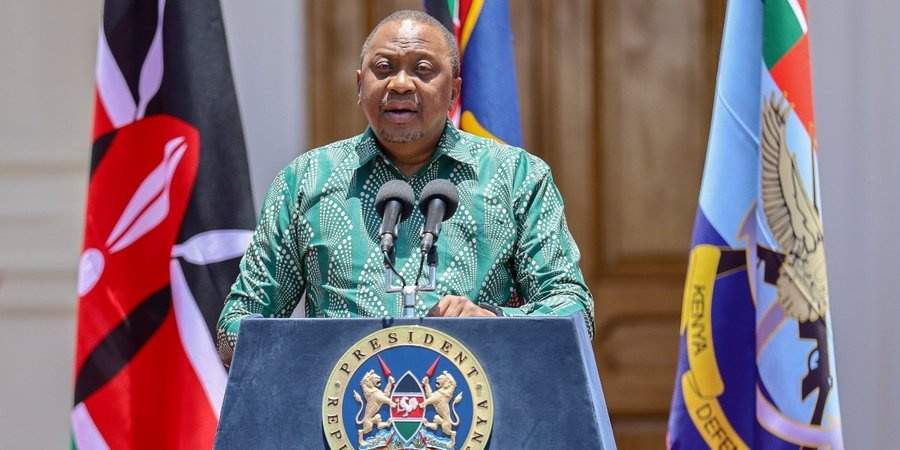 In a briefing at State House on the current status of Covid-19 in the country, President Uhuru also extended the period of the cessation of movement into and out of the Nairobi Metropolitan Area and the Counties of Kilifi, Kwale, Mombasa and Mandera that is currently in force up to and until the 6thJune 2020.