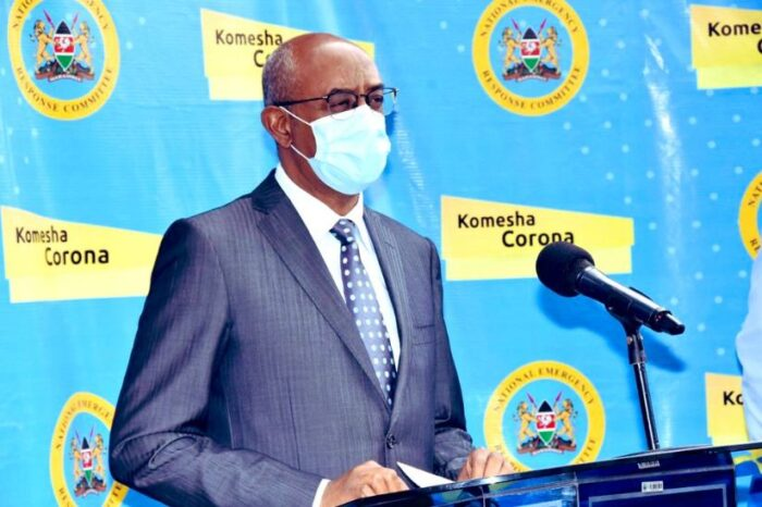 Nearly half of Kenya's counties record at least one COVID-19 case