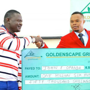 The hypes and dips of being a CEO, Billionaire Peter Wangai of Goldenscape greenhouses narrates