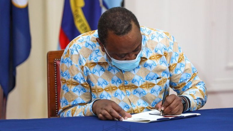 Kenyan President Uhuru Kenyatta has signed into law the country's Finance Bill, which removes the 20% excise tax on sportsbook stakes that led to local operators Sportpesa and Betin exiting the market.