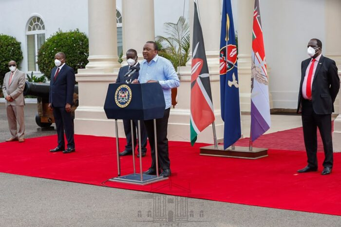 10th Presidential address on the COVID-19 pandemic in Kenya