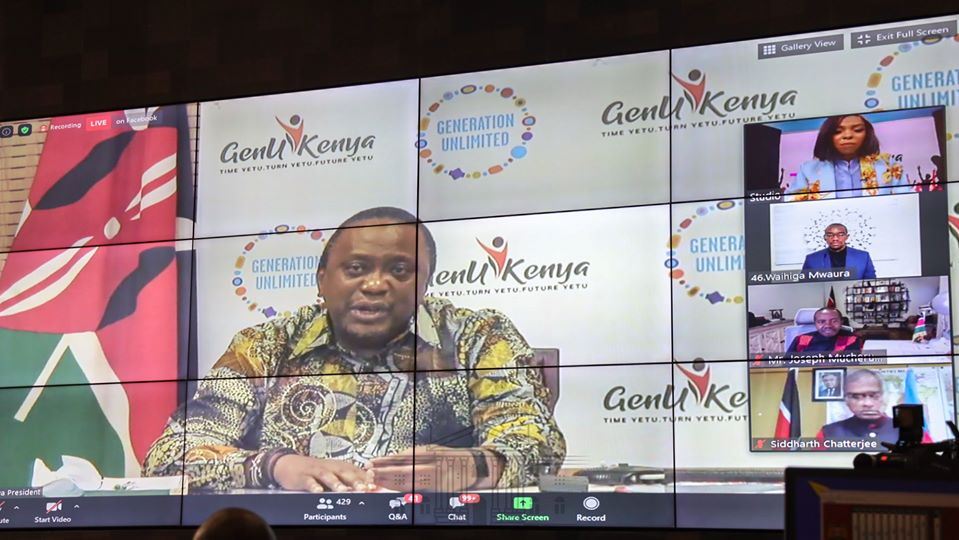 President Uhuru Kenyatta has today assured Kenyans that his administration will continue investing in interventions that seek to better the wellbeing of young people. The President said Kenya's youthful population is the nation's greatest resource, with the highest potential to uplift the country's socioeconomic profile.