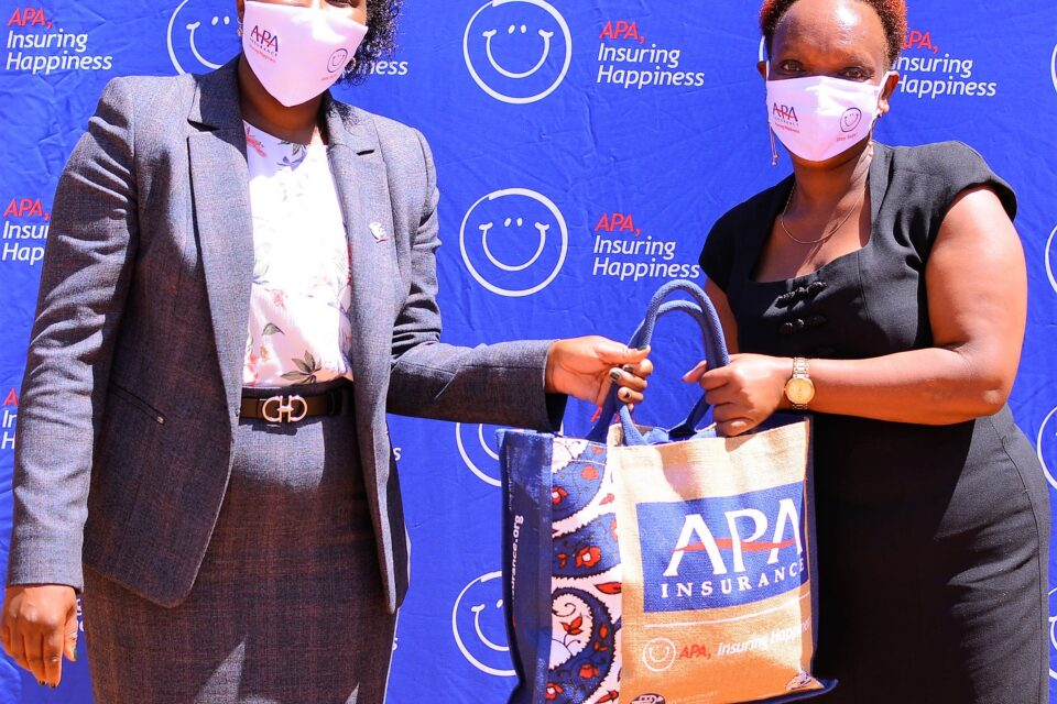 APA Life has donated 1000 children's reusable face masks to Cheleta Primary School. The move has seen the company through APA Apollo Foundation donate over 10, 000 masks to some of the most disadvantaged communities in Kenya