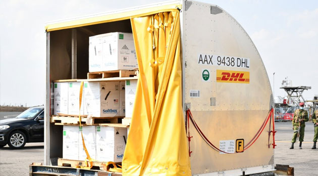Kenya receives second donation of 210600 Pfizer doses from the US - Capital FM Kenya