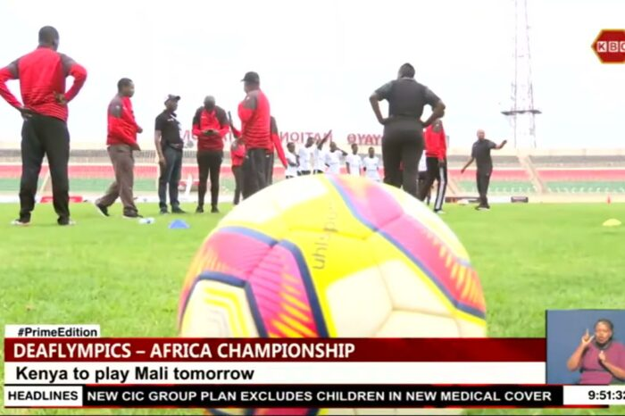 Kenya to play Mali in their second group A match of Africa Deaf Football championship - Kenya Broadcasting Corporation